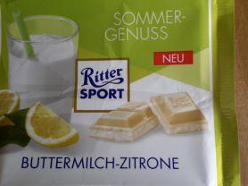 Ritter Sport Buttermilch-Zitrone | Hochgeladen von: subtrahine