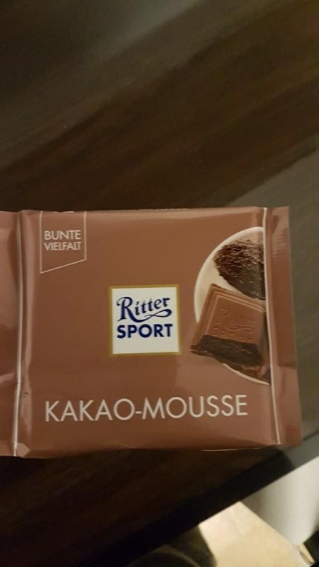 Ritter Sport, Kakao Mousse von yvonneriethig769 | Hochgeladen von: yvonneriethig769