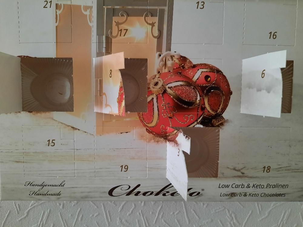 Choketo Adventskalender 2020 von C9H13NO3   Hochgeladen von: C9H13NO3
