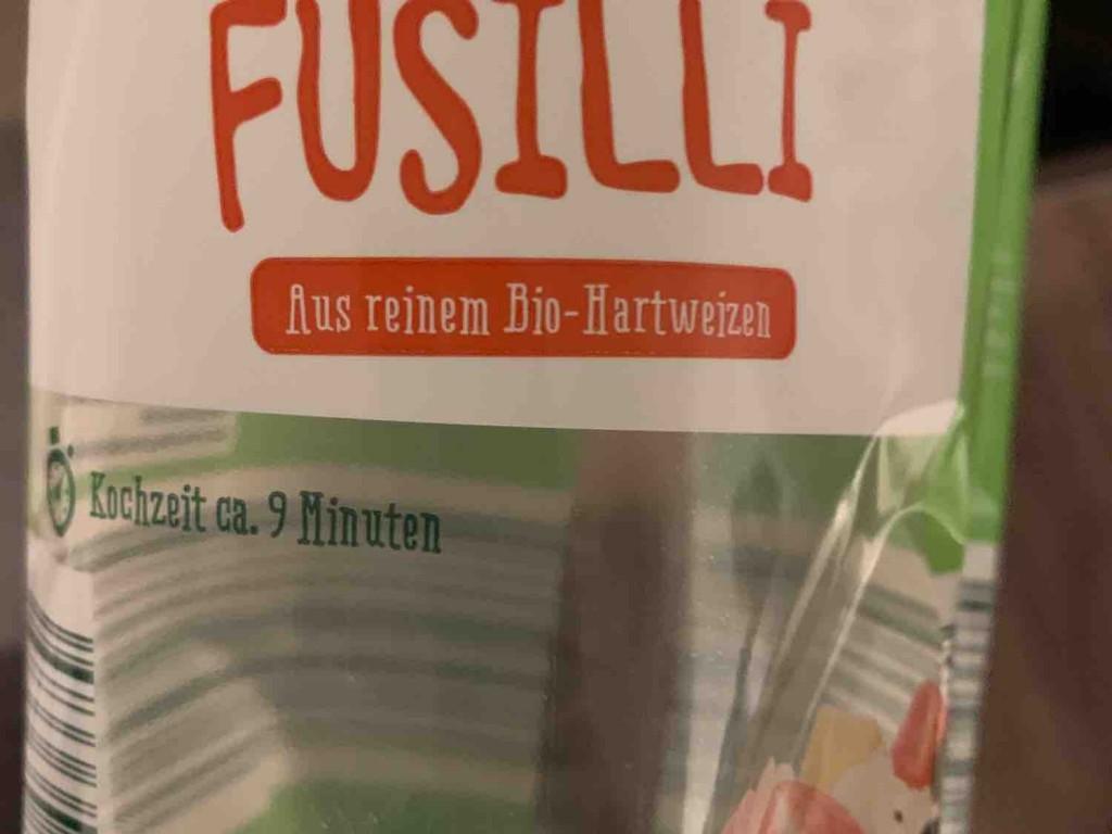 Bio Fusilli, Aus reinem Bio-Hartweizen von flyyhigh | Hochgeladen von: flyyhigh