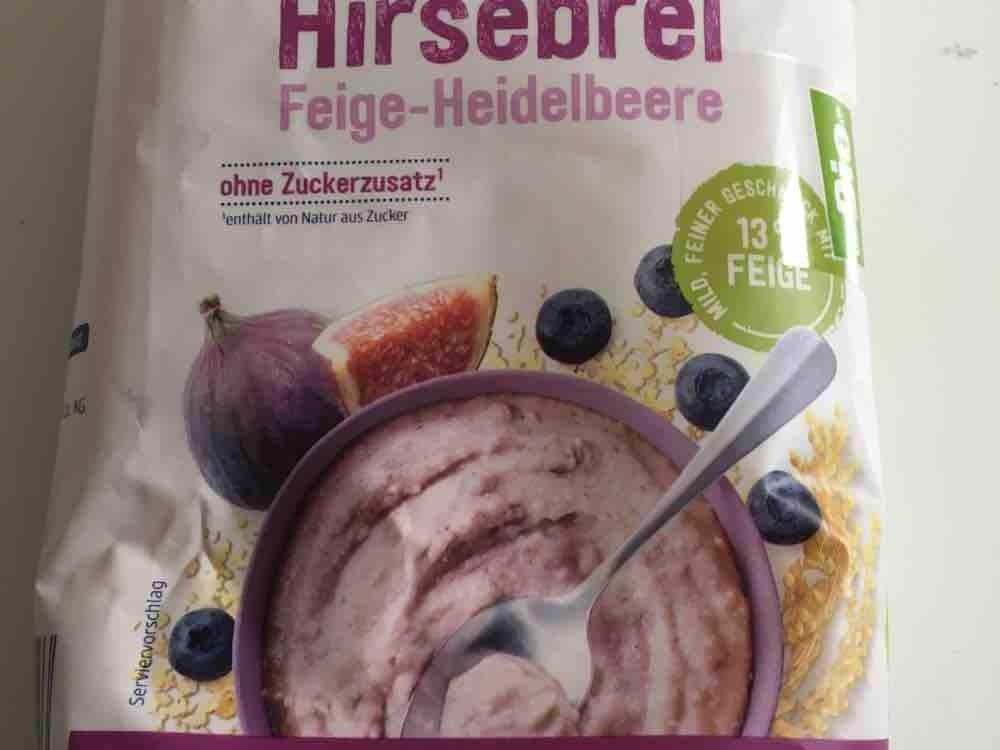 Hirsebrei Feige-Heidelbeere von Kerstin1506 | Hochgeladen von: Kerstin1506
