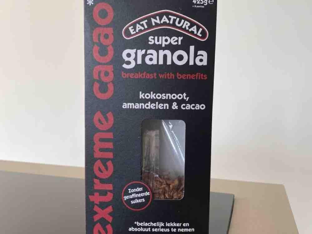 Super Granola, met kokosnoot, amandelen & cacao von Maxiw32   Hochgeladen von: Maxiw32