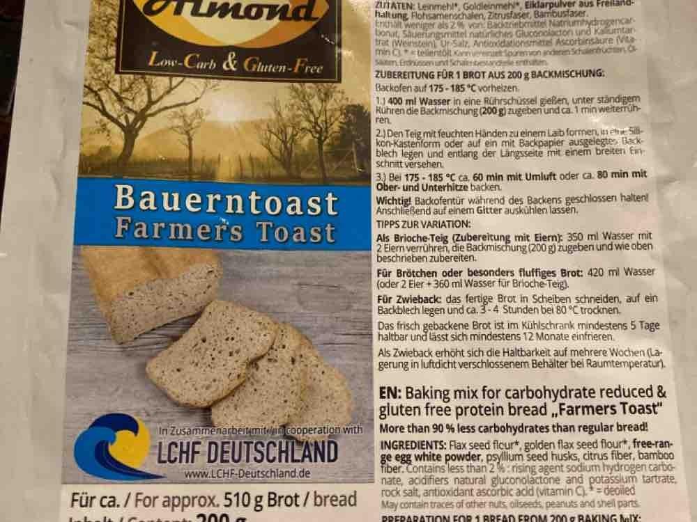 Dr. Almond Bauerntost mit Ei, Brot von shporsche | Hochgeladen von: shporsche