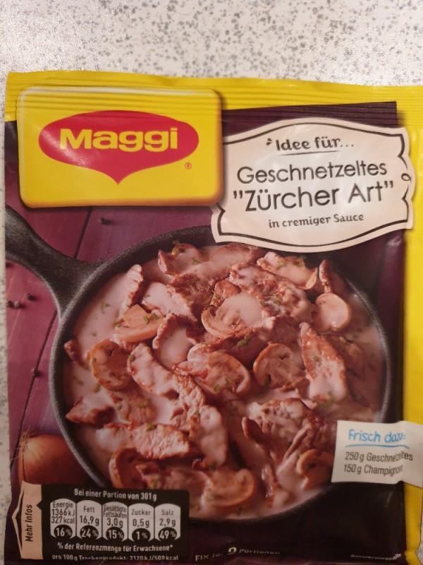 Maggi FIX Geschnetzeltes Züricher Art, Trockenprodukt von claudias.fddb | Hochgeladen von: claudias.fddb
