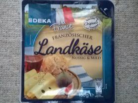 Französischer Landkäse, nussig & mild   Hochgeladen von: dagi.s