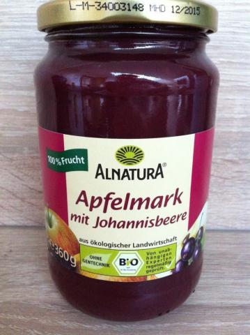 Apfelmark mit Johannisbeere, 100% Frucht   Hochgeladen von: wuschtsemmel