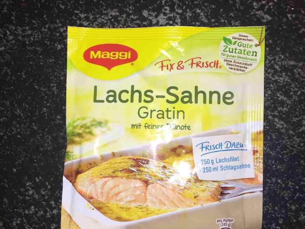 Lachs-Sahne Gratin mit feiner Dillnote von DomVomBruck   Hochgeladen von: DomVomBruck