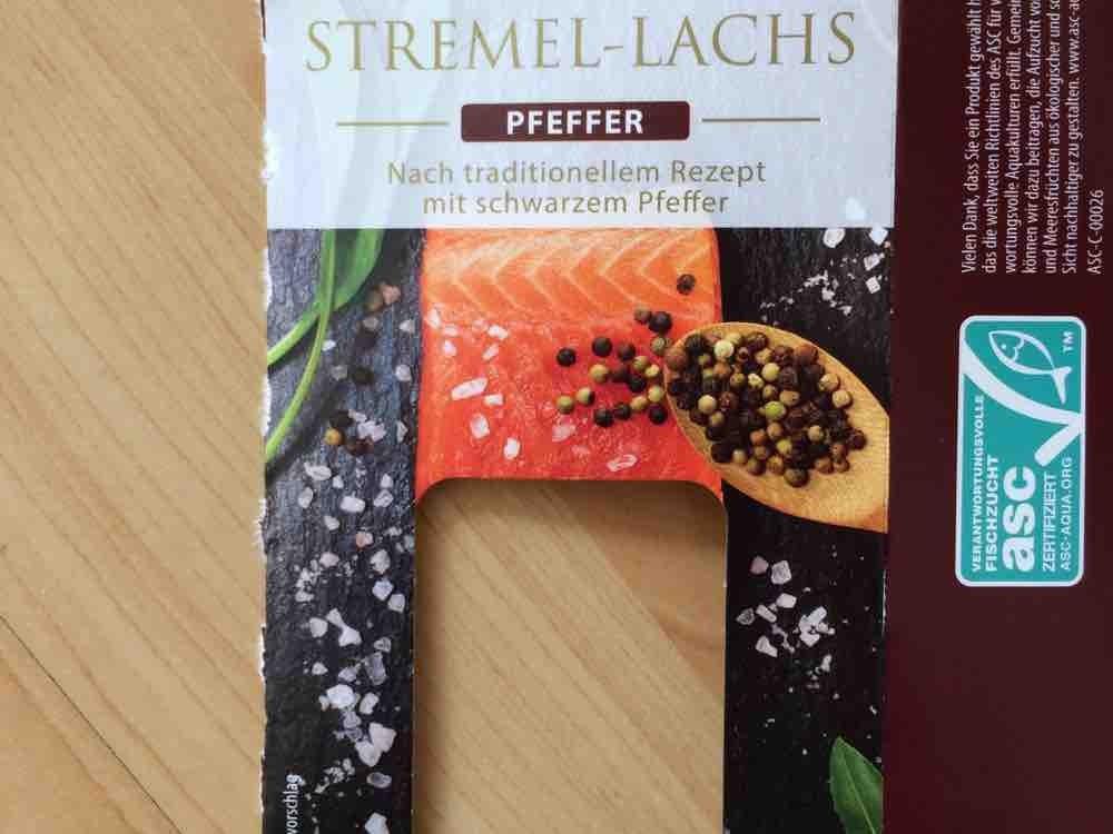 Stremel-Lachs, Pfeffer von Kikiall   Hochgeladen von: Kikiall