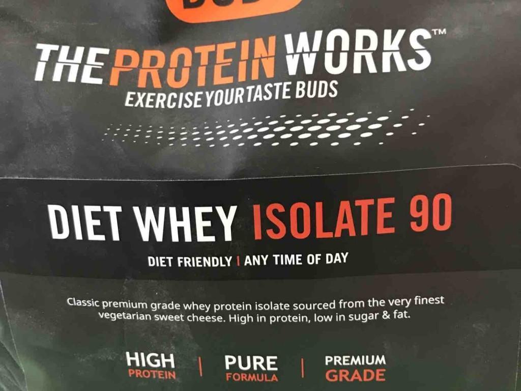 Diet whey isolate 90 choc peanut cookie von Susongle | Hochgeladen von: Susongle