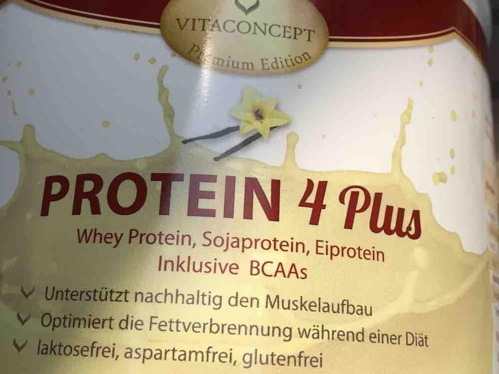 Protein 4 Plus, Vanille von JezziKa   Hochgeladen von: JezziKa