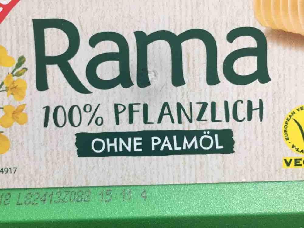 Rama Ohne Palmöl
