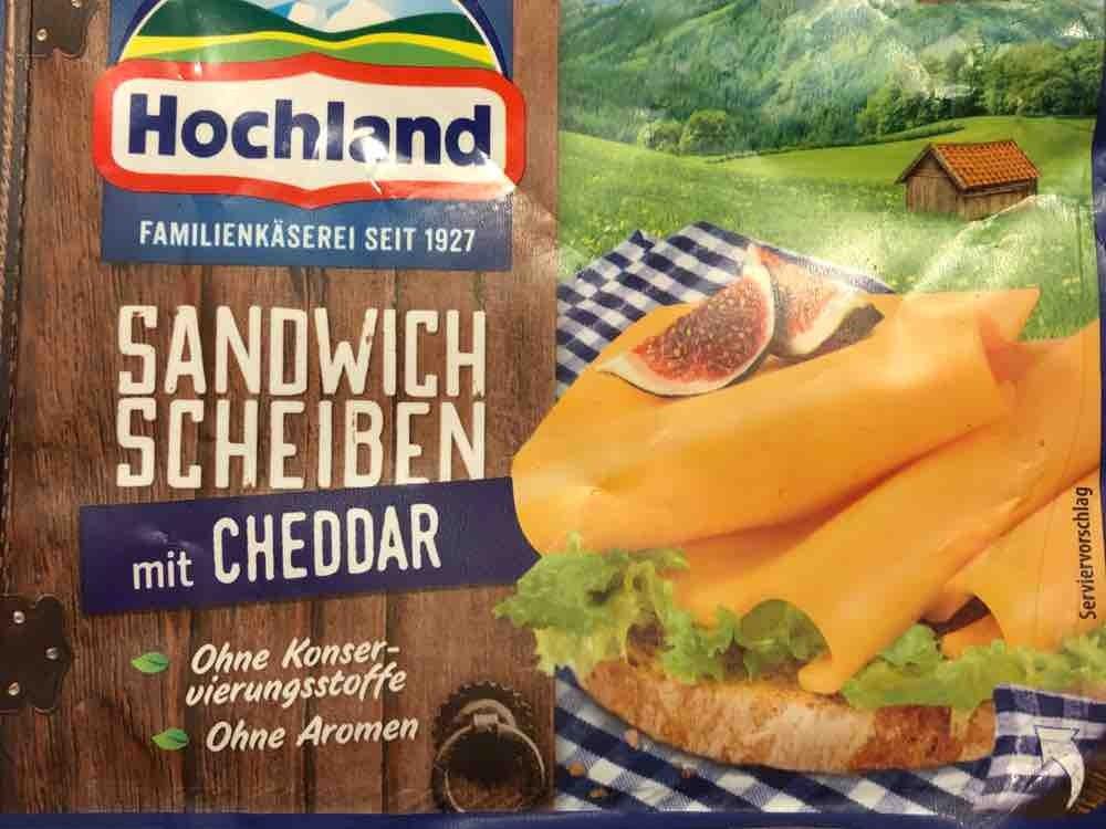 Sandwich Scheiben, mit Cheddar von Hauptfriese | Hochgeladen von: Hauptfriese