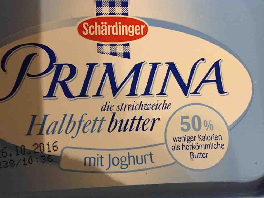 Primina Halbfettbutter, mit Joghurt von ing123fr | Hochgeladen von: ing123fr