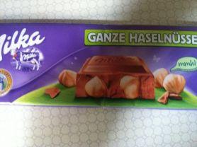 Schokolade , Ganze Haselnüsse (Großtafel) | Hochgeladen von: krawalla1