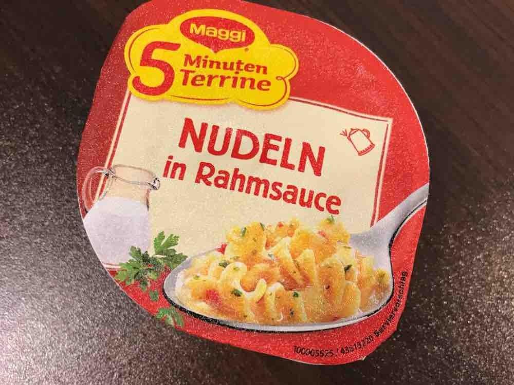 5 Minuten Terrine Nudeln in Rahmsauce von marenha | Hochgeladen von: marenha