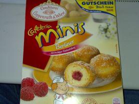 Caferteria mini Berliner, Himbeere   Hochgeladen von: Goofy83