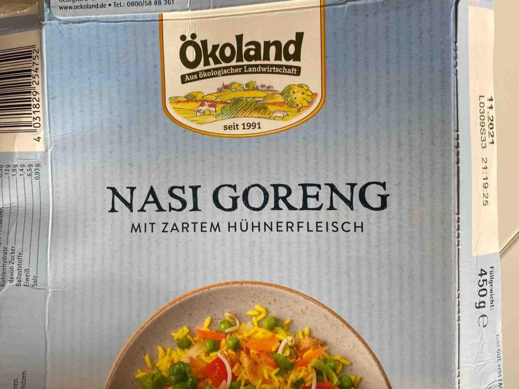 Nasi Goreng, Indonesische Reispfanne mit Hähnchenfleisch von KerstinBraun   Hochgeladen von: KerstinBraun