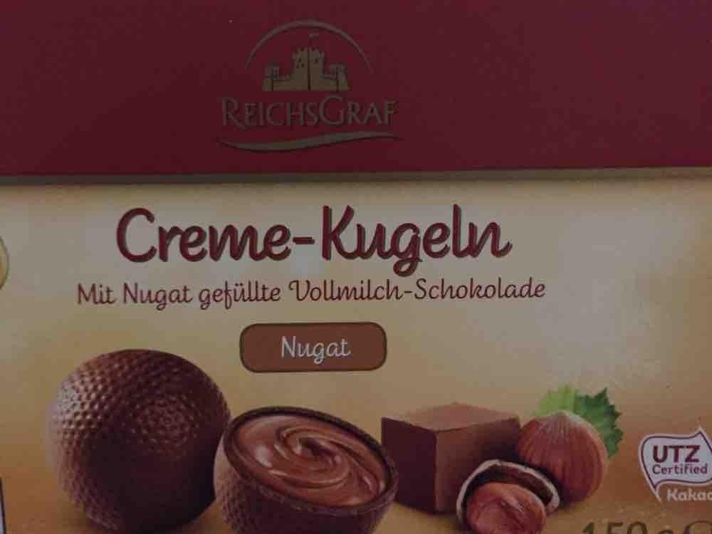 Creme-Kugel, Nugat von quadrata | Hochgeladen von: quadrata