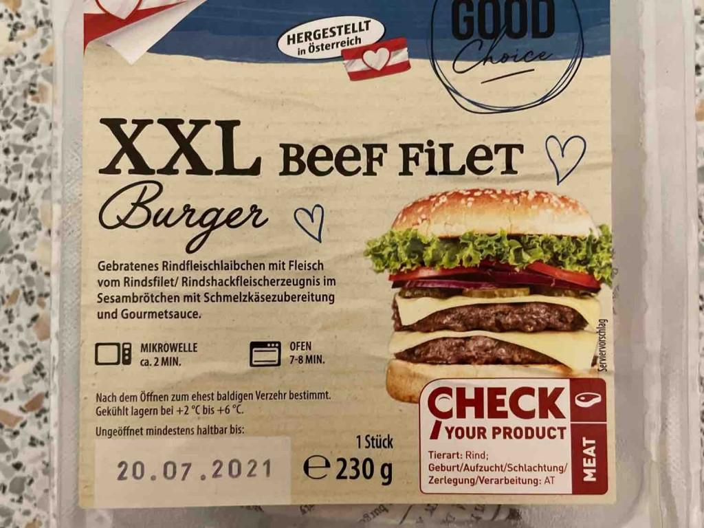 XXL Burger, mit Beef Filet von frtznbrtzn   Hochgeladen von: frtznbrtzn