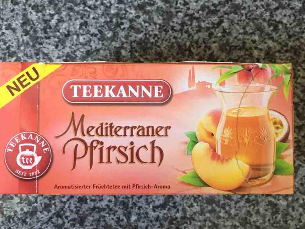Tee, Mediterraner Pfirsich von Yve1974 | Hochgeladen von: Yve1974