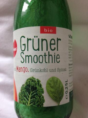 Grüner Smoothie, Mango, Grünkohl, Spinat  | Hochgeladen von: doerr