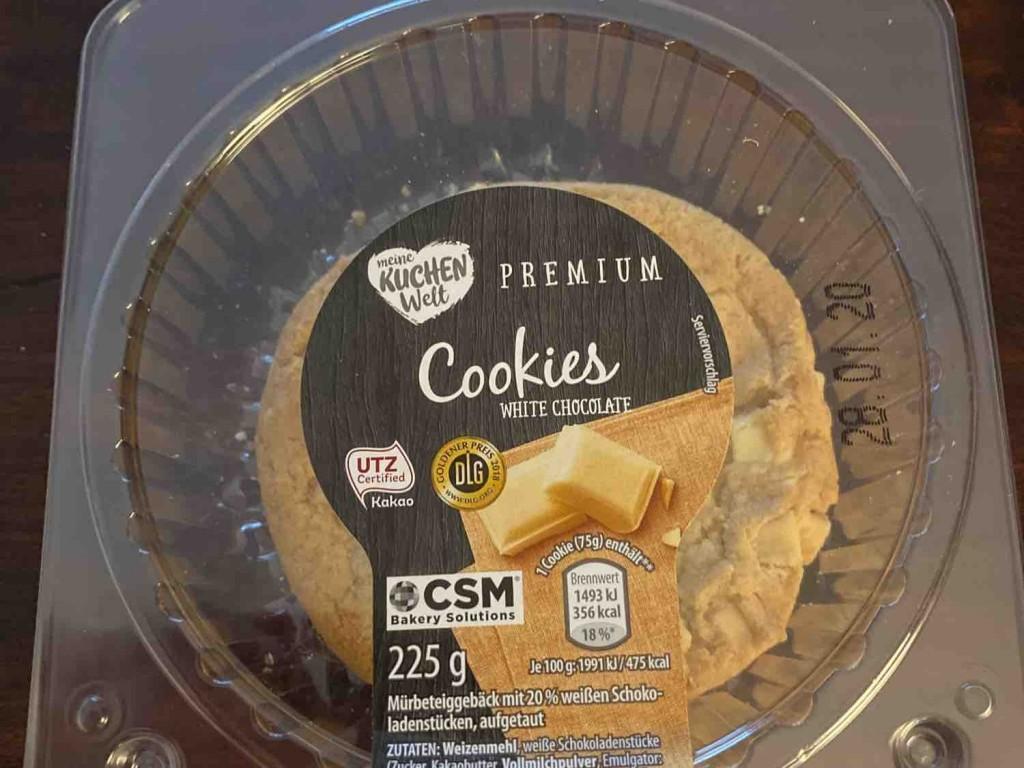 Cookies White Chocolate, Spuren von Schalenfrüchten von lemmmchen | Hochgeladen von: lemmmchen