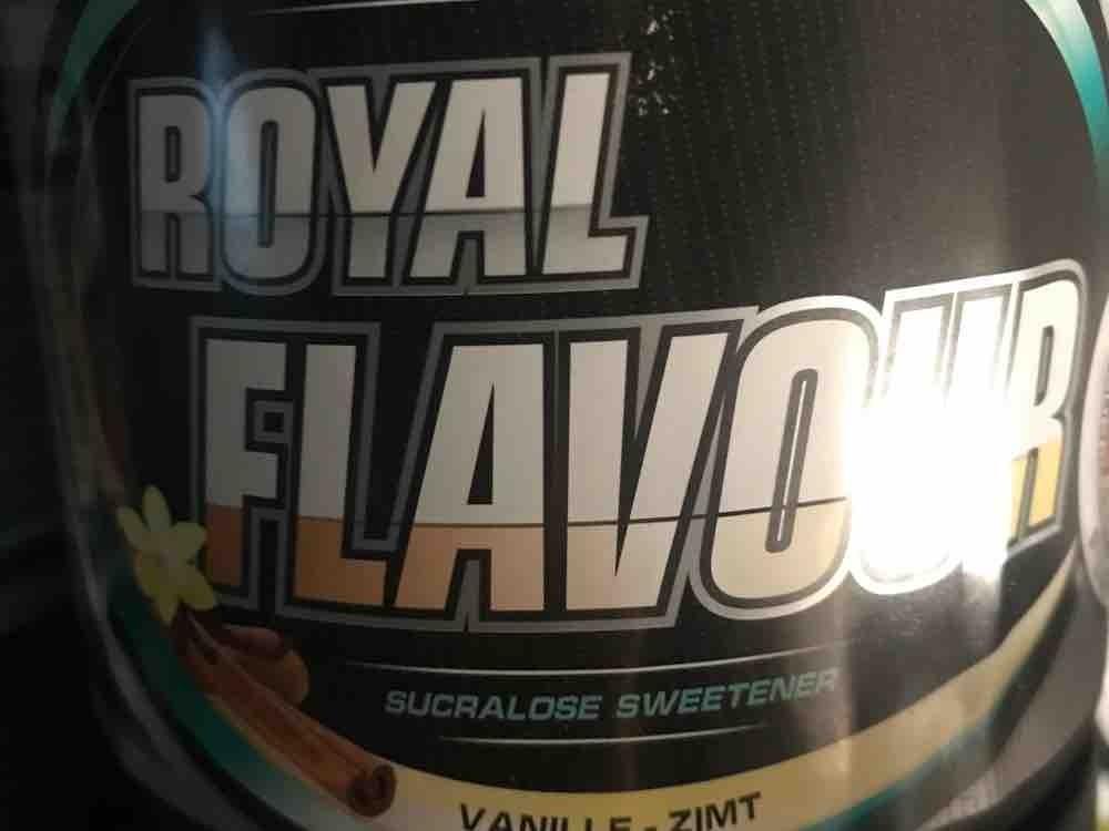 S.U. Royal Flavour System, Vanille-Zimt von AldenKarahmetovic   Hochgeladen von: AldenKarahmetovic
