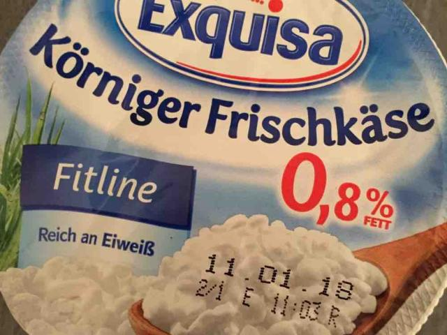 Körniger Frischkäse, Fitline 0,8% von frigui | Hochgeladen von: frigui