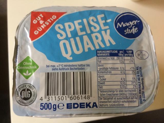 Speisequark, Magerstufe   Hochgeladen von: juliahippold334