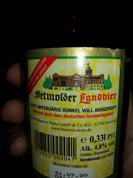 Detmolder Landbier (dunkel) von soames | Hochgeladen von: soames