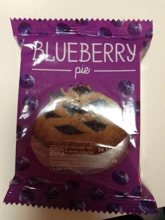 Blueberry Pie, Mürbeteig-Gebäck mit Heidelbeeren  von Bergkamp10 | Hochgeladen von: Bergkamp10