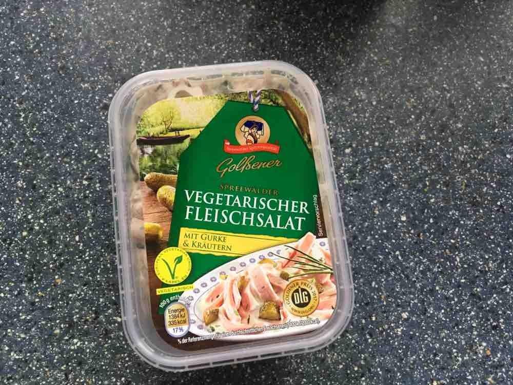 Spreewälder vegetarischer Fleischsalat mit Gurke und Kräutern von JanReinert   Hochgeladen von: JanReinert