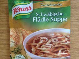 Schwäbische Flädle Suppe, Pfannkuchen | Hochgeladen von: xmellixx