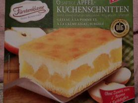 Apfel-Kuchenschnitten, Fürstenklasse, Saftige Apfelstückchen | Hochgeladen von: Enomis62