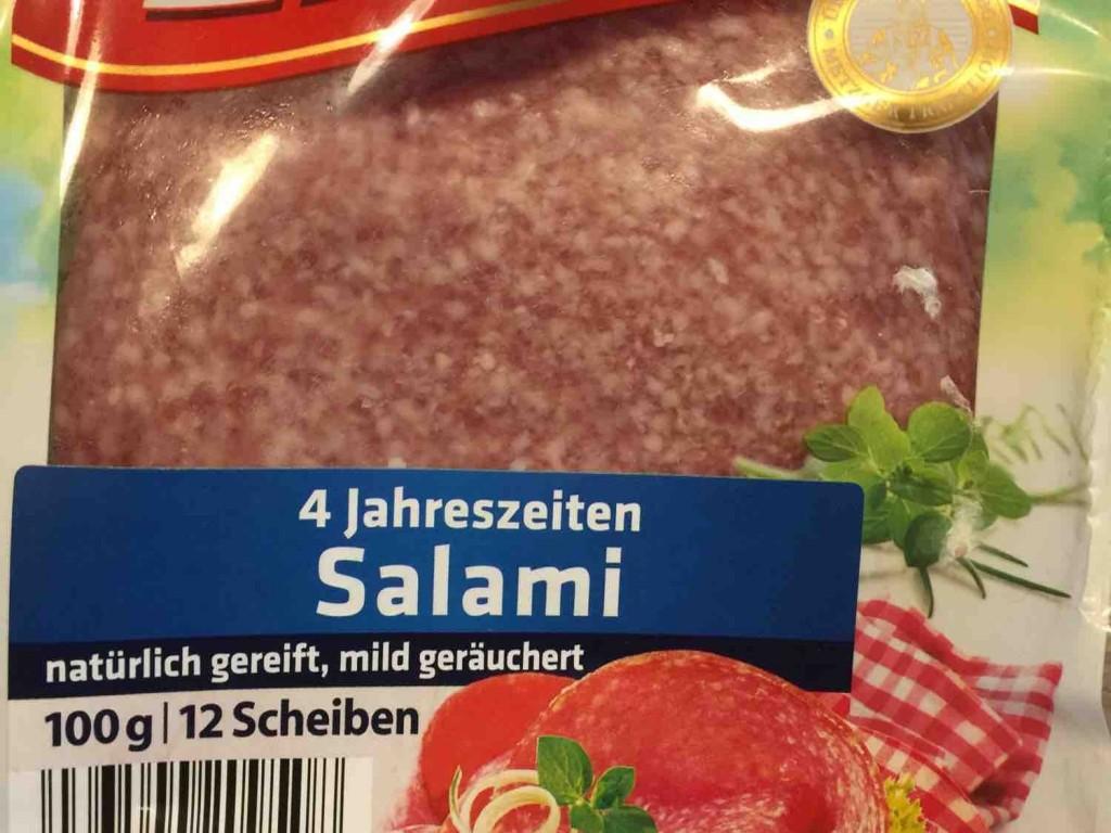 4 Jahreszeiten Salami, natürlich gereift, mild geräuchert von fusselbacke68 | Hochgeladen von: fusselbacke68