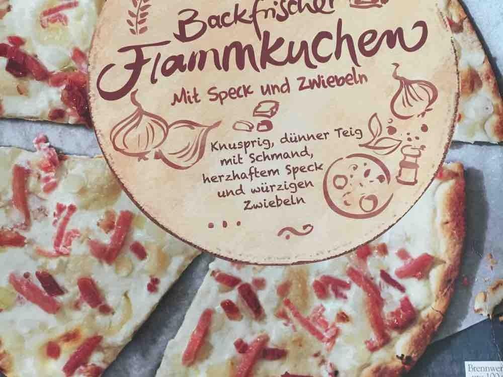 Knusperdnner Backfrischer Flammkuchen, Mit Speck und Zwiebeln  von Feuertier | Hochgeladen von: Feuertier