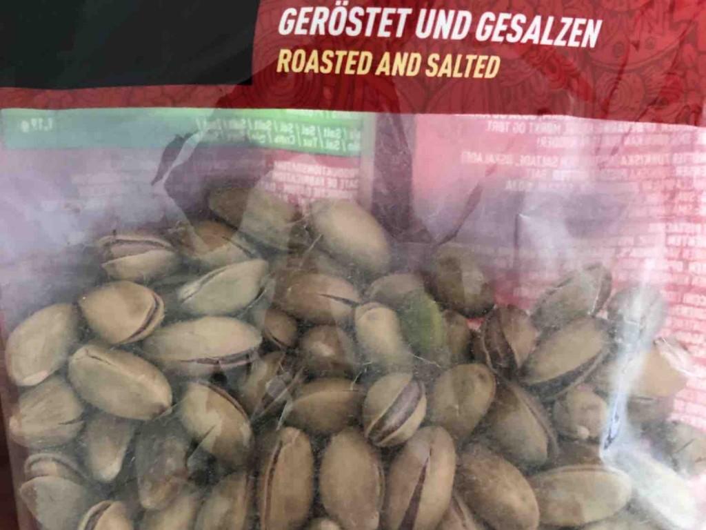 Türkische Pistazien, geröstet und gesalzen von Oguzkan   Hochgeladen von: Oguzkan