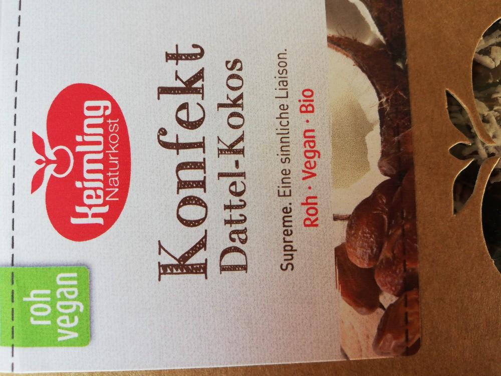 Konfekt Dattel-Kokos von bab17 | Hochgeladen von: bab17