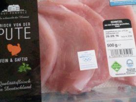Puten-Schnitzel aus dem Brustfilet geschnitten, frisch | Hochgeladen von: Heike Kellmann