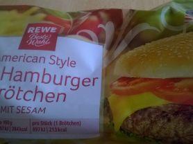 XXL Hamburger Buns, Mit Sesam | Hochgeladen von: 64petra