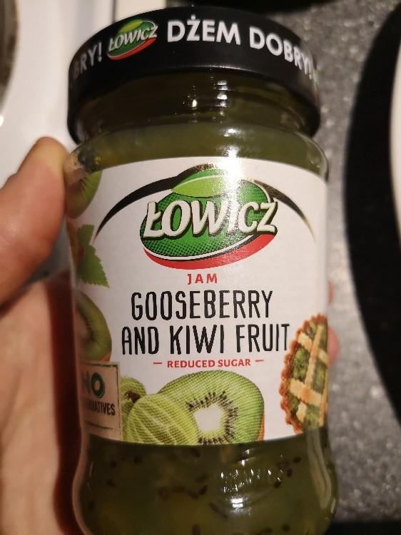gooseberry and kiwi fruit, reduced sugar von kfriedrich   Hochgeladen von: kfriedrich