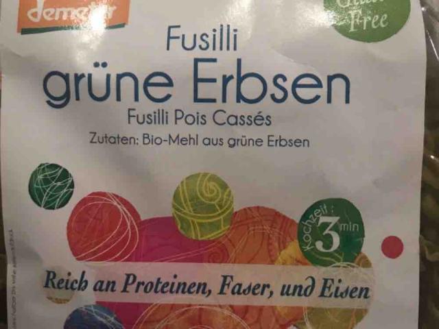 Fusilli grüne Erbsen ( Demeter) von Spargeltarzan   Hochgeladen von: Spargeltarzan