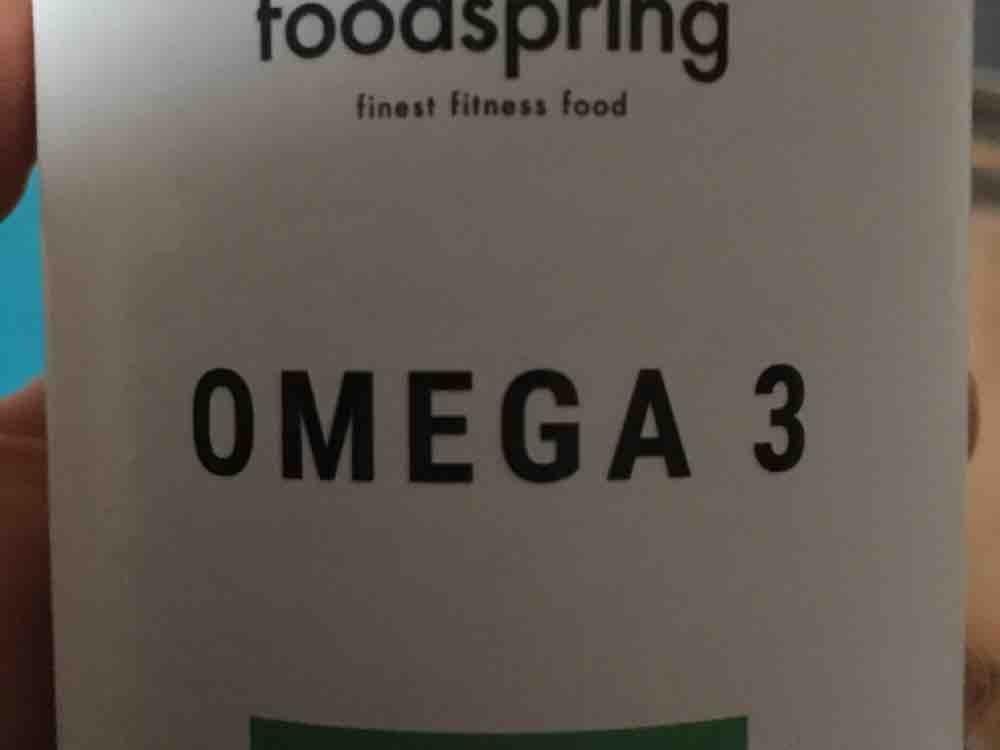 Omega 3 Foodspring (vegan) von ginalol29   Hochgeladen von: ginalol29