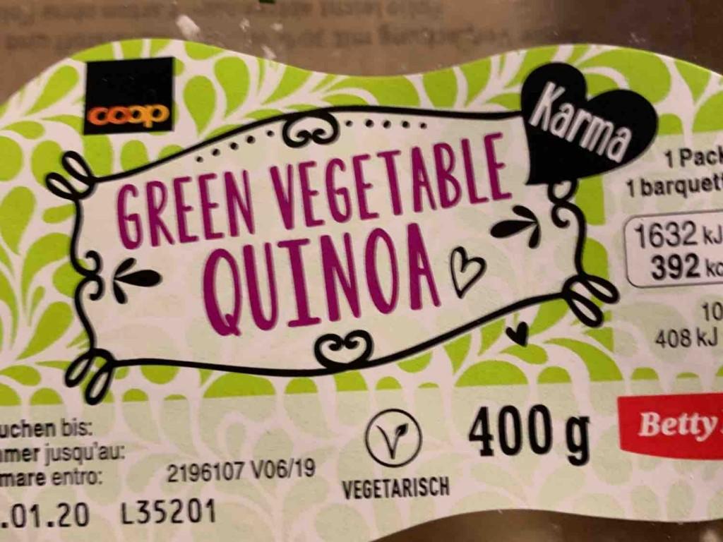 Gemüse mit Kichererbsen, Sojabohnen, Quinoa, Ricotta von montag26 | Hochgeladen von: montag26