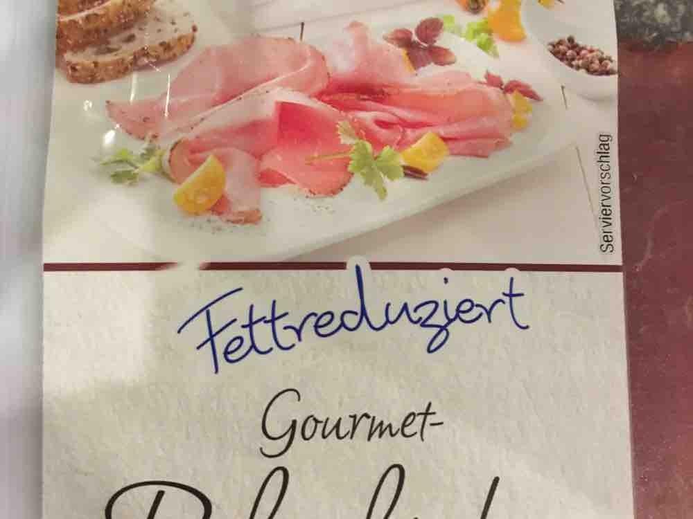 Leichter Genuss Gourmet Schinken, 30 % weniger Fett. Mit Pfefferrand von suseklein697   Hochgeladen von: suseklein697