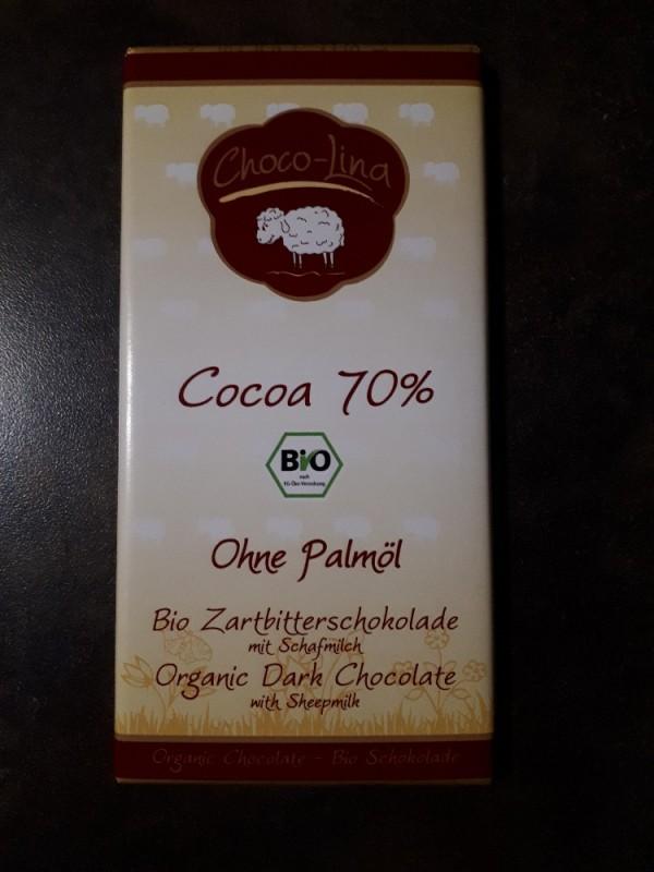Bio Zartbitterschokolade mit Schafmilch, ohne Palmöl von numrollen | Hochgeladen von: numrollen