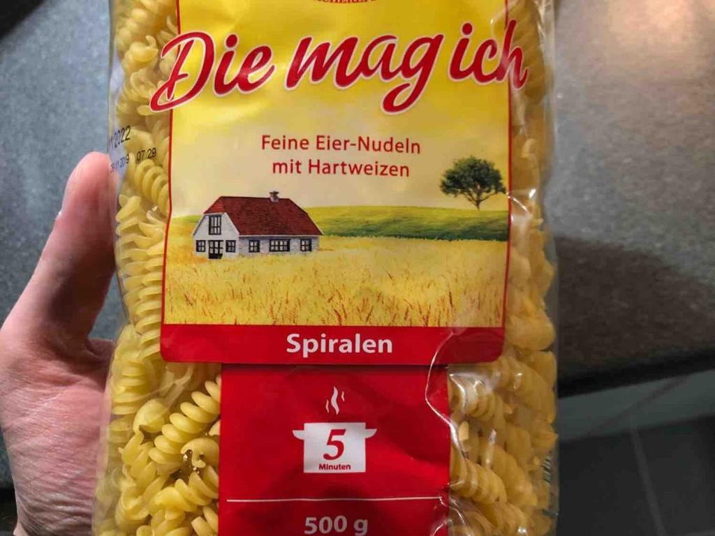 Hartweizen Nudeln, Spiralen (roh) von Macfly | Hochgeladen von: Macfly