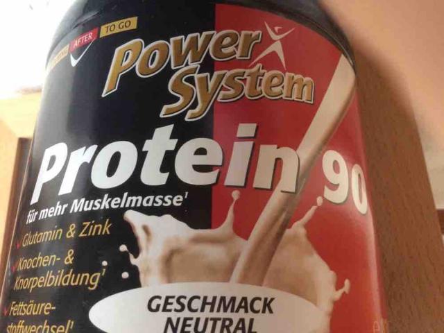 Power System 90 Protein, Neutral von Su Bi   Hochgeladen von: Su Bi