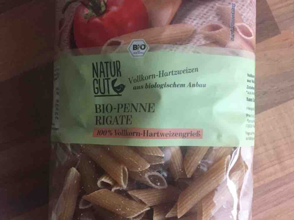 Bio-Vollkorn Penne Rigate, Natur gut von pschwarz91124 | Hochgeladen von: pschwarz91124