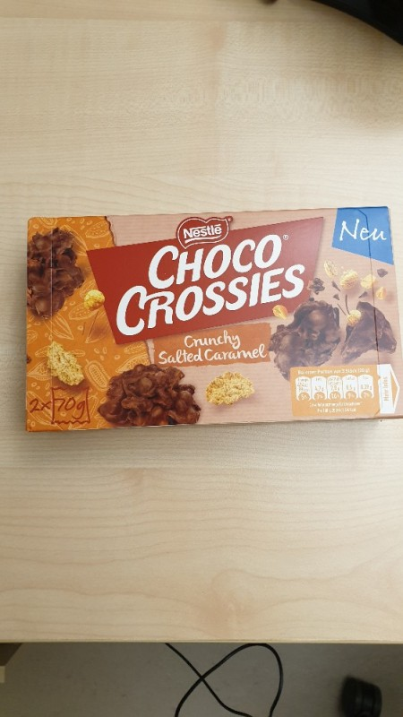 Choco Crossies, Crunchy Salted Caramel von Highdeefinition | Hochgeladen von: Highdeefinition